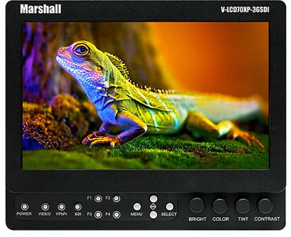 Picture of Marshall 7-inch 3GSDI Lightweight Monitor