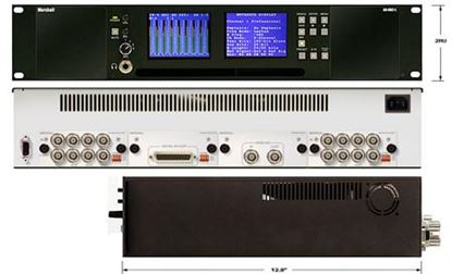 Picture of AR-DM2-L 16 Channel Digital Audio Monitor-2RU Mainframe with Dual High-Resolution Displays