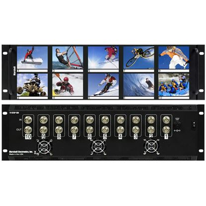 Picture of V-R35P 3.5'X10 LCD Rack Mt. NTSC/PAL